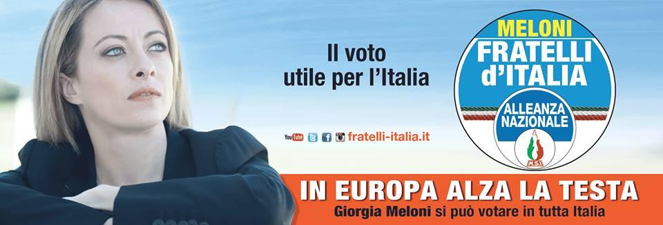 GiorgiaMeloni - Manifesto Elezioni Europee 2014
