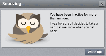 Hootsuite - Snoozing